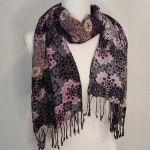 3/$18, Maurcies Floral Scarves